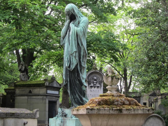 Pere Lachaise in Paris