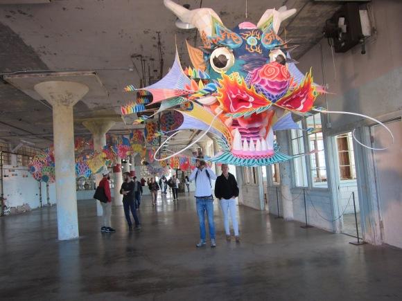 Ai Weiwei at Alcatraz