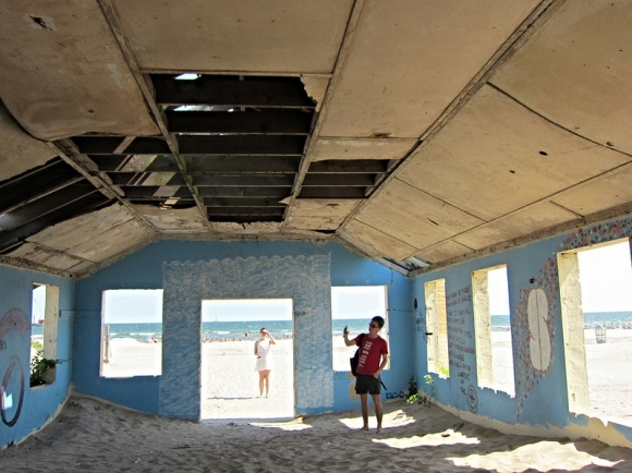 Ruins at the Rockaways